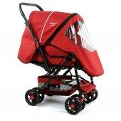 Diamond Baby P101 Çift Yönlü Bebek Arabası 6 Renk Ayak Örtüsü Yağmurluk Dahil