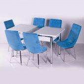 Yemek Masası Mutfak Masa Sandalye Takımları Cam
