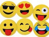 Emoji Amerikan Servis 6lı Set