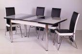 Evform Masa Sandalye Takımı 4 Sandalye + Açılır Masa Takimlari