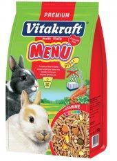 Vitakraft Menü Vital Premium Tavşan Yemi 5x1000 Gr.