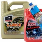 Lubex Syn 0w 30 4lt Tam Sentetik Motor Yağı+3lt Org.antifriz+csu