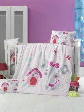 Bebek Nevresim Takımı Pink House