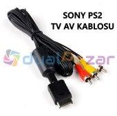 Sony Ps2 Ps3 Kablo Tv Lcd Bağlantı Kablosu Av Kablosu Televizyon
