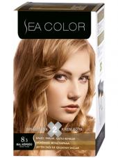 Sea Color 2 Li Saç Boyası 8.3 Bal Köpüğü + Hediyeli