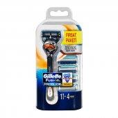 Gillette Fusion Proglide Flexball Makina+4 Bıçak