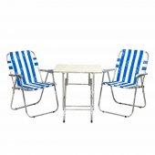 Sinem Piknik Kamp Bahçe Masa Sandalye Takımı Seti 45x60