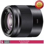 Sony Sel50f18 E 50 Mm F1,8 Oss Yüksek Performanslı Portre Lensi