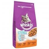 Whiskas Sterile Tavuklu Kisirlaştirilmiş Kedi Mamasi 1,4 Kg
