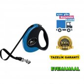 Flexi Collection Tape M 5 Mt Mavi Otomatik Köpek Gezdirme Tasması