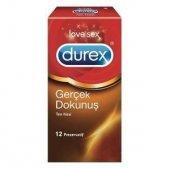 Durex Gerçek Dokunuş 12li Prezervatif