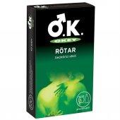 Okey Rötar Geciktirici Etkili 10lu Prezervatif
