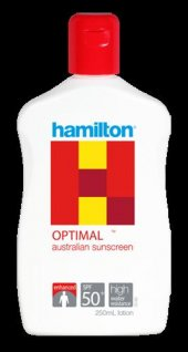 Hamilton Optimal Sunscreen Spf 50+ 250 Ml Güneş Losyonu