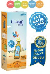 Ocean Omega 3 Portakal Aromalı Balık Yağı Şurubu 150 Ml