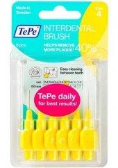 Tepe Interdantal Brush Diş Arası Fırçası 0.7 Mm Sarı Blister 6 Lı