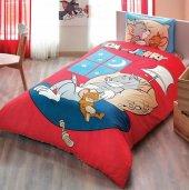 Taç Lisanslı Nevresim Takımı Tom And Jerry Good Night Tek Kişilik