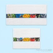 Taç Lisanslı 2li Havlu Seti Star Wars