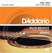 Daddarıo Ez900 Akustik G.teli