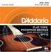 Daddarıo Eft15 Akustik G.teli