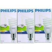 Tasarruflu Ampul Philips 15w 3lü Paket Beyaz Işık