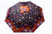 Zeus&co. Renkli Noktalar Rüzgarda Kırılmayan Otomatik Şemsiye