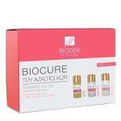Bioder Biocure Tüy Azaltıcı Kür Yüz İçin 3x5ml(Süpriz Hediyeli)