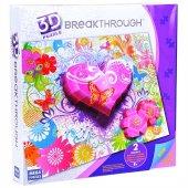 Mega Puzzles 250 Parça Breakthrough Kalpler Ve Çiçekler