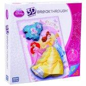 Mega Puzzles 200 Parça 3d Puzzle Breakthrough Disney Prenses