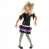 Zombi Kız Çocuk Kostümü 4 6 Yaş