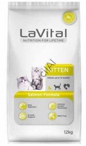 La Vital Kitten Somonlu Yavru Kedi Maması 12 Kg