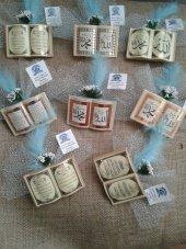 50 Adet Bebek Şekeri Dualı Kitap Şeklinde Bebek Şekeri