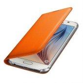Samsung Galaxy S6 Flip Wallet Kartlıklı Cüzdan Kılıf