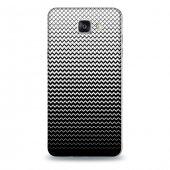 Samsung A7 2016 Kılıf Siyah Beyaz Zikzak Desenli Kılıf