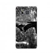 Samsung Alpha Kılıf Elveda Yağmuru Desenli Kılıf