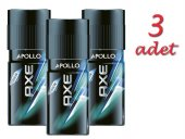 Axe Deodorant 3x150ml Apollo