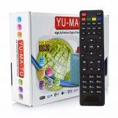 Yumatu Full Hd Mini Uydu Alıcısı Biss Şifre Çözücü Usb Wi Fi Mkv