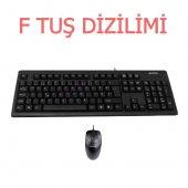 A4tech Kr 8372 F Usb Kablolu Klavye Mouse Set