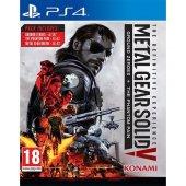 Ps4 Metal Gear Solıd The Defınıtıve Experıence