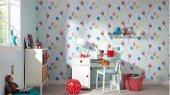 Mavi Balonlu Çocuk Odası Duvar Kağıdı 19,90 Tl