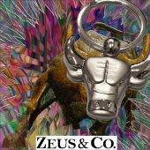 Zeus&co. Boğa Anahtarlık Hediye Kesesi İle Birlikte