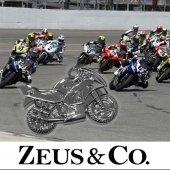 Zeus&co. Motorsiklet Anahtarlık Hediye Kesesi İle Birlikte