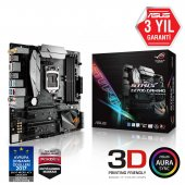 Asus Intel Strıx Z270g Gamıng Z270 Ddr4 2133 Glan 1151p 7 M.2 Sata Usb3.1