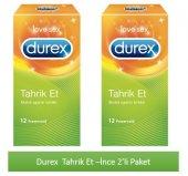 Durex Tahrik Et 12li 2li Paket