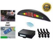 Inwells E2 Led Ekranlı Sesli Geri Park Sensörü Siyah