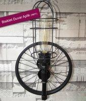 Bisiklet Duvar Aplik Kafesli