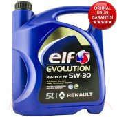 Elf Evolution Rn Tech Fe 5w 30 5litre Dpfli Motor ...