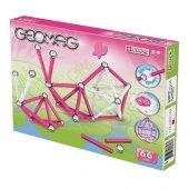 Geomag Pink 66 Parça Eğitici Manyetik Puzzle
