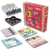 Eser Beşli Oyun Seti 5 İn1 Eğlenceli Eğitici Oyun Seti