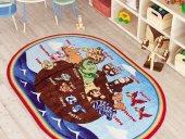 Confetti Animal Ship Çocuk Odası Halısı Oyun Halısı