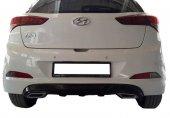 Hyundai İ20 Egzoz Görünümlü Arka Tampon Eki Difüzö...